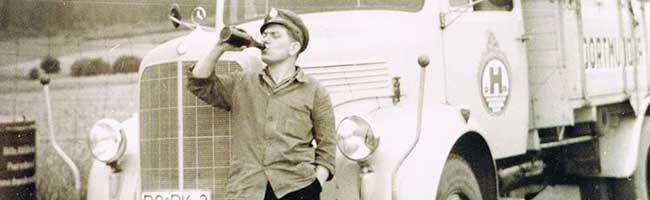 Sonderausstellung im Brauereimuseum Dortmund: Vom Kaltblüter zum LKW und von der Bierkanne zur Zapfsäule