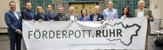 """Erfolgreiche Premiere – """"Förderpott.Ruhr 2020"""" unterstützt nachbarschaftliches Engagement mit 56.000 Euro"""