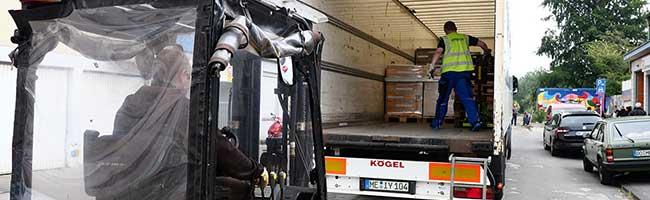 Eine LKW-Ladung Kekse kostenfrei von Koblenz nach Dortmund – In Wickede entsteht Verteilerzentrum der Tafel