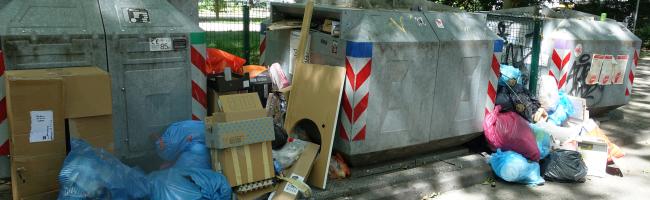 Für mehr Stadtsauberkeit: Maßnahmen gegen illegalen Müll und Verbesserung an Depotcontainer-Standorten der EDG