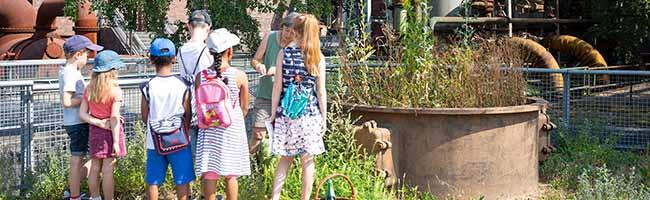 URLAUB@HOME auf der Kokerei Hansa in Dortmund: Sechs Wochen gibt es Naturführungen für Ferienkinder