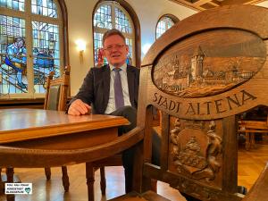 Dr. Andreas Hollstein zieht es nach mehr als 20 Jahren als Bürgermeister in Altena nach Dortmund.