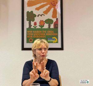 Daniela Schneckenburger will erste OB der Grünen in Dortmund werden. Foto: Alex Völkel
