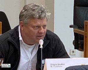 Unternehmensgründer und Geschäftsführer Jürgen Siedler