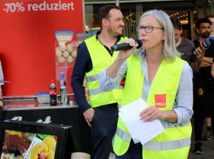 Silke Zimmer ist Fachbereichsleiterin der Dienstleistungsgewerkschaft ver.di für den Handel in NRW.
