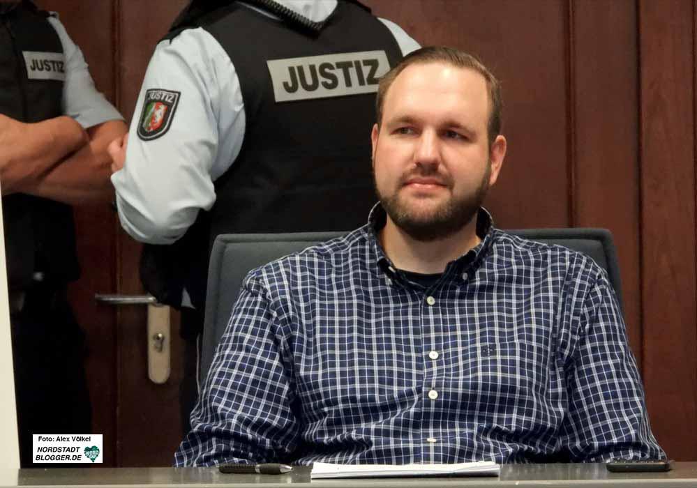 Sascha Krolzig kassierte auch in der Berufungsverhandlung 14 Monate Haft ohne Bewährung. Fotos: Alex Völkel