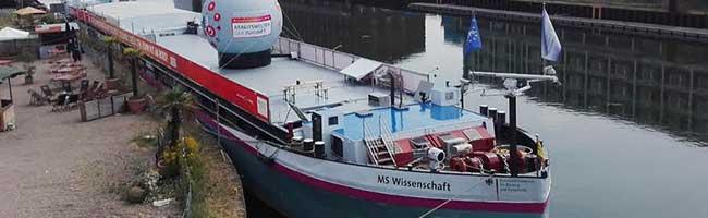 Nachhaltig leben mit Algen, Insekten und Popcorn: MS Wissenschaft legt auch 2020 in Dortmund an