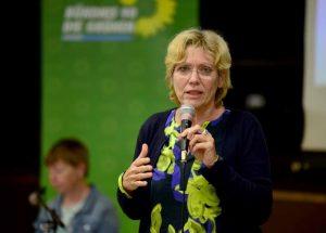 Daniela Schneckenburger will erste OB der Grünen in Dortmund werden. Foto: Partei