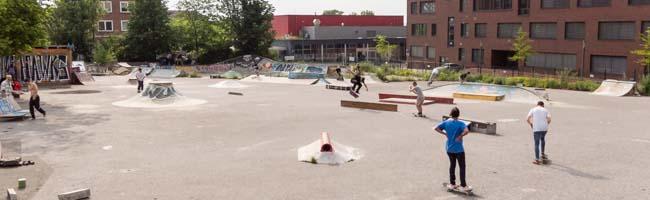 """Die Tage von """"Utopia"""" sind (vorerst) gezählt: Der temporäre Skatepark am Dortmunder U muss einem Neubau weichen"""