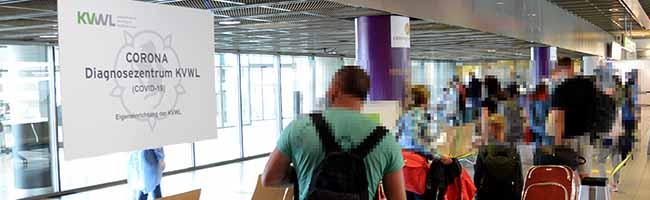 Kostenlose Tests: Landesregierung richtet Corona-Testzentren für Reiserückkehrer*innen an den NRW-Flughäfen ein