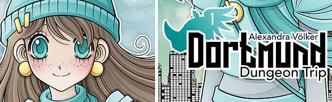 """Ein Trip in die Stadt der Zukunft: Der Manga """"Dortmund Dungeon Trip"""" ist gratis im Comic-Schauraum erhältlich"""