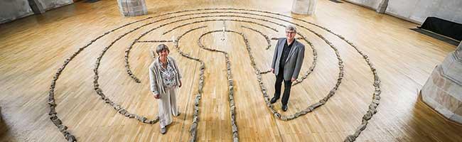 Zur Ruhe kommen in turbulenten Zeiten: Finden Sie zu sich selbst im Labyrinth in der St. Petri-Stadtkirche Dortmund