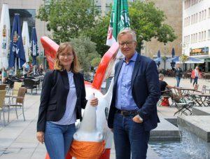 Eva von Angern und Dietmar Bartsch waren in Dortmund zum Fachgespräch Kinderarmut zu Gast. Fotos: Claus Stille