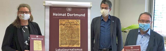 """Themenheft """"Heimat Dortmund"""": Der Journalismus in unserer Stadt – seine Geschichte, Gegenwart und Herausforderungen"""