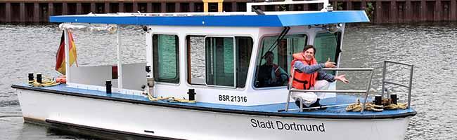 """UPDATE: Dortmunder Hafen AG veröffentlicht Filmserie """"Auffm Wasser"""" mit Martin Kaysh – alle Folgen online"""