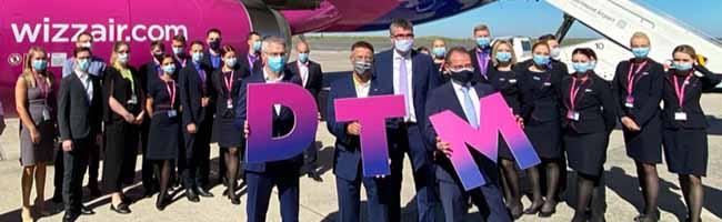 """Wizz Air: Erste """"Base"""" in Deutschland am Dortmund Airport eröffnet – trotz Corona stehen Zeichen auf Wachstum"""