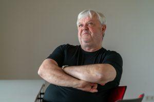 Andreas Gora, Geschäftsführer des AWO-Unterbezirks in Dortmund im Gespräch