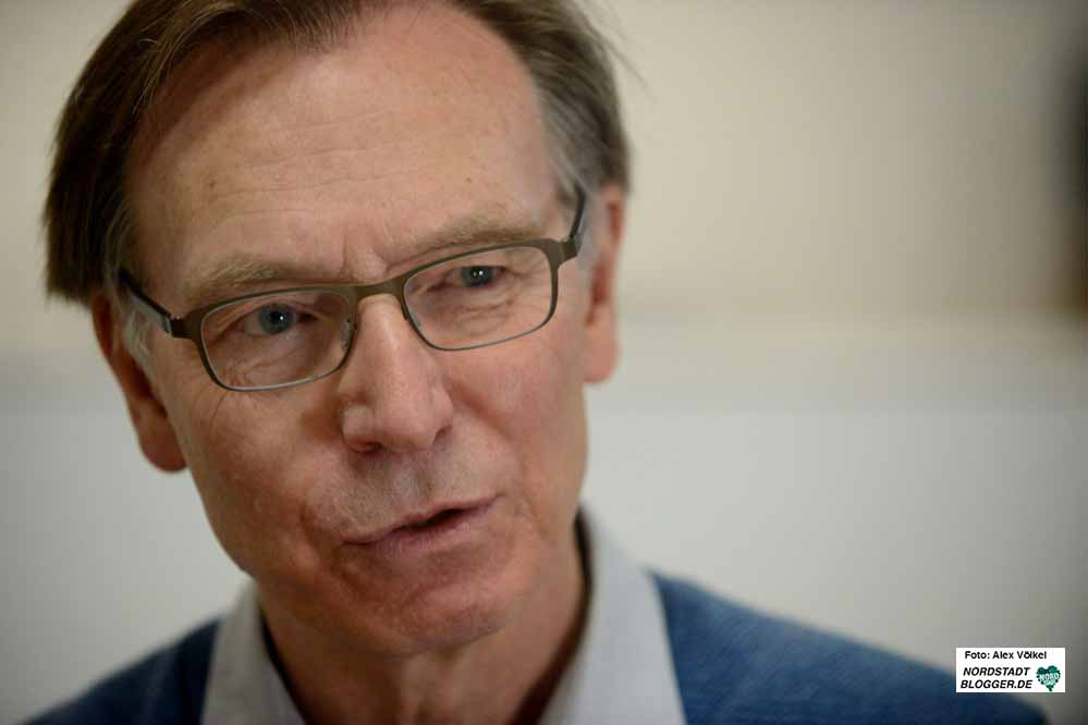 30 Jahre war Michael Bürger Gewerkschaftssekretär, u.a. Geschäftsführer von ver.di. Fotos: Alex Völkel