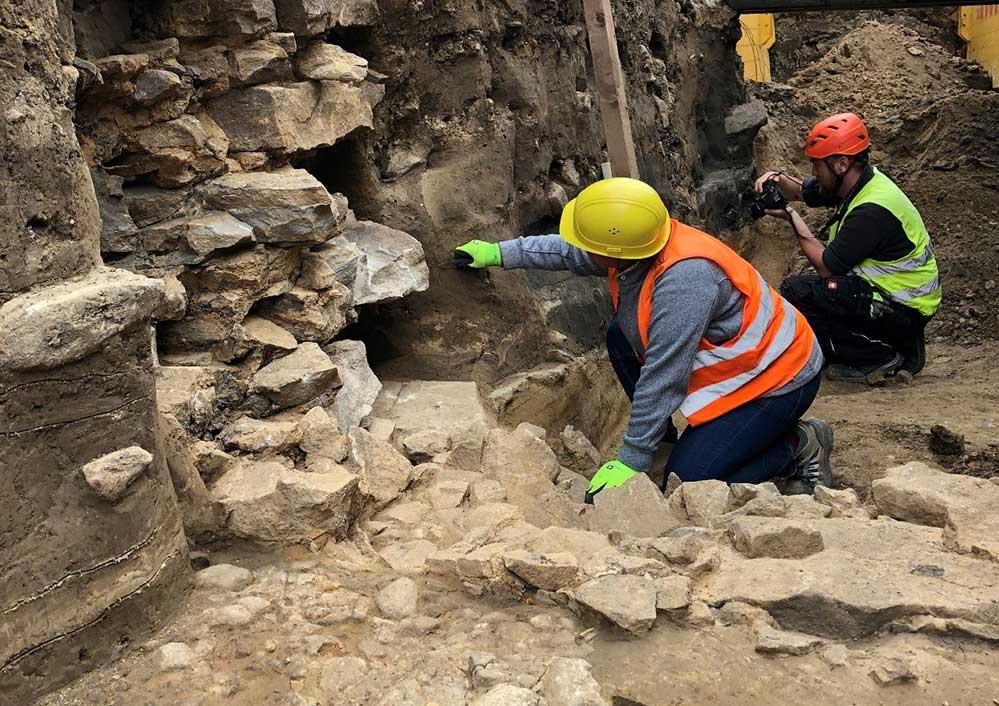 Dortmund im Mittelalter: Bei Erdarbeiten stoßen