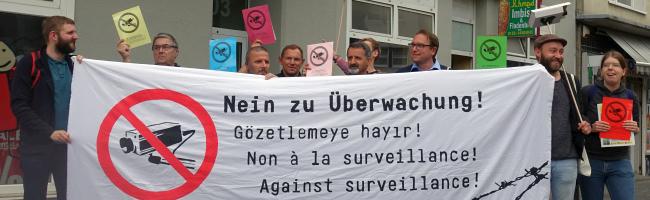 """""""Wehret den Anfängen"""" – Nachbarschaftsinitiative macht Front gegen geplante Videobeobachtung in der Münsterstraße"""