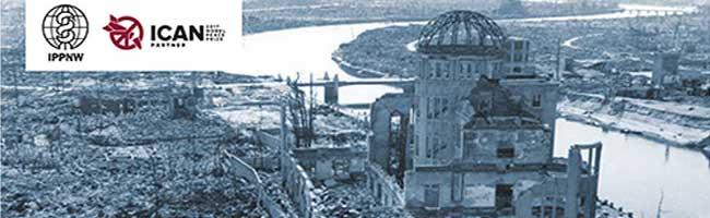 75 Jahre Hiroshima: Kulturelle Botschaft von Junko Wada am Dortmunder U und politischer Appell für Waffenverbot