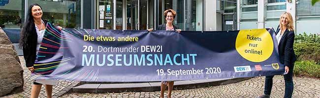 Die etwas andere 20. DEW21-Museumsnacht lockt trotz Corona mit 300 Veranstaltungen an 28 Orten in Dortmund