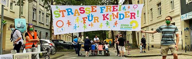 Ohne Sorge spielen und toben: Temporäre Spielstraße in der Nordstadt macht Bedürfnisse von Kindern sichtbar