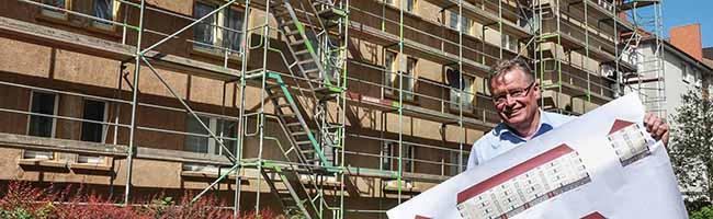 Umfassende Instandhaltungsmaßnahmen für 48 Häuser in der Nordstadt –  DOGEWO21 investiert 2,3 Millionen Euro