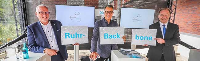 Gemeinsames Rückgrat für digitale Wirtschaft: Dortmund, Bochum und Gelsenkirchen koppeln ihre Glasfasernetze