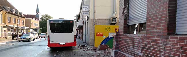 Bei einem schweren Verkehrsunfall mit Linienbus in Dortmund-Westerfilde wurden sechs Personen leicht verletzt