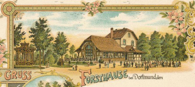 SERIE Nordstadt-Geschichte(n): Das Forsthaus im Burgholz war ein idyllisch gelegenes Ausflugsziel