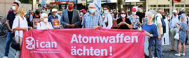 Klares Bekenntnis gegen Atomwaffen und Aufrüstung aller Beteiligten beim Hiroshima-Gedenken in Dortmund