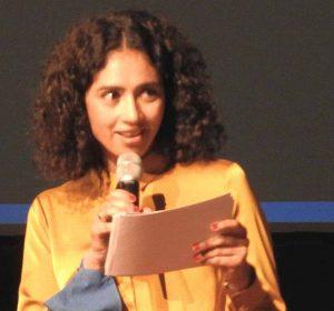 Die freie Journalistin und Redakteurin Najima El Moussaou moderierte die Veranstaltung.