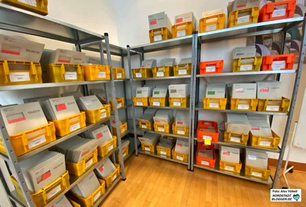 Insgesamt 54 Stimmzettel gibt es für die Kommunalwahl 2020 in Dortmund. Foto: Alex Völkel