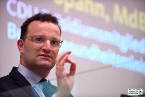 Bundesgesundheitsminister Jens Spahn warb für Verständnis für die Schutzmaßnahmen.