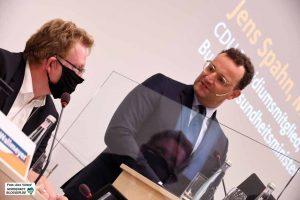 Wahlkampfhilfe aus Berlin gab es für den Dortmunder OB-Kandidaten Andreas Hollstein.