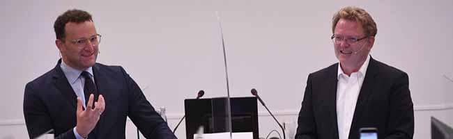 Corona: Erfolge, Lehren und Ausblick – Gesundheitsminister Jens Spahn zu Gast bei der KVWL und der CDU Dortmund