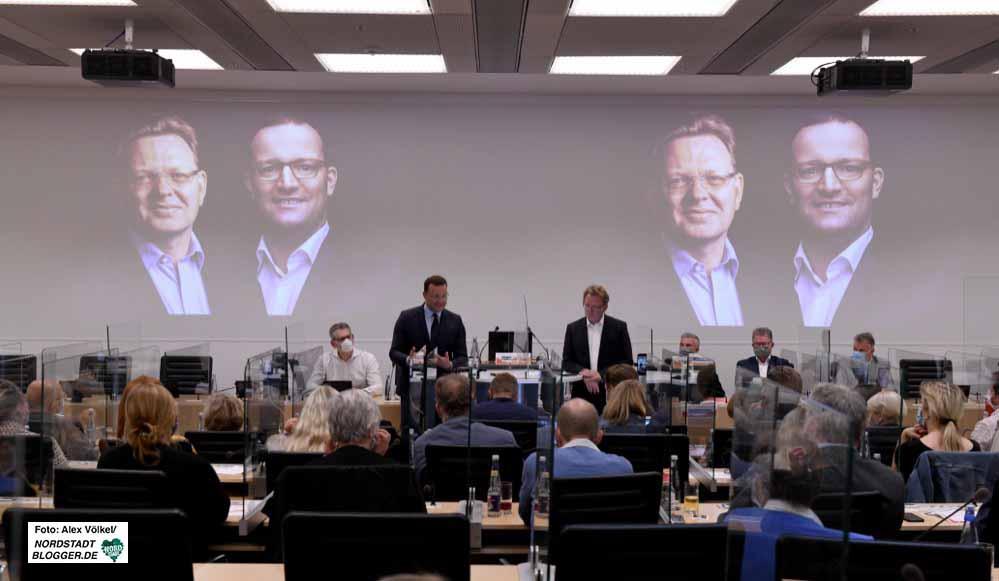 In den Räumen der KVWL fand der CDU-Wahlkampftermin statt. Fotos: Alex Völkel