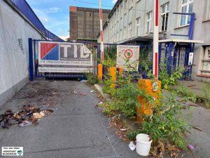 Die Thelen-Gruppe hat das HSP-Areal gekauft und reißt nicht mehr benötigte Gebäude und Infrastruktur ab. Foto: Alex Völkel