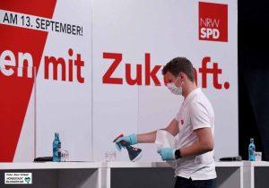 Bei der SPD galten die Hygiene-Regeln, anders als bei Tönnies.