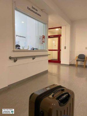 Alle Neuzugänge im Krankenhaus müssen auf Covid-19 getestet werden. Foto: Alex Völkel