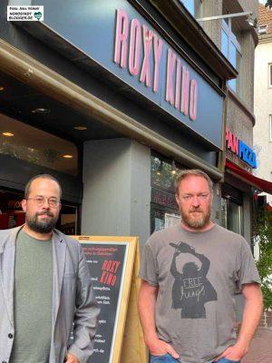 Sascha Kirchhoff und Holga Rosen haben 2011 das Roxy-Kino in der Münsterstraße übernommen.