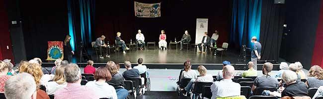 """""""Ist Klima Heimspiel?"""" – OB-Kandidat*innen stellen sich """"Parents for Future""""-Diskussion im Theater des Depots"""