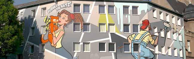 Hof- und Fassadenprogramm stark nachgefragt: 600.000 Euro zur Förderung privater Immobilien in der Nordstadt geplant