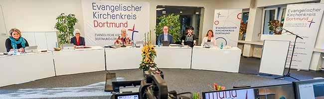 Novum bei den Wahlen im Evangelischen Kirchenkreis Dortmund: Die Kreissynode tagte coronabedingt online