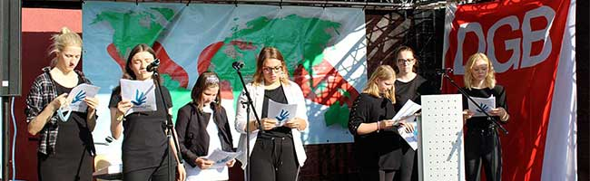 Gedenken zum Antikriegstag in Dortmund: Nationalismus und Populismus bedrohen die multilaterale Weltordnung