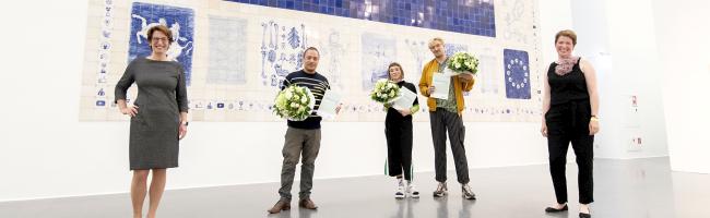 Christoph Knecht gewinnt DEW21 Kunstpreis 2020 – Förderpreis geht an Jana Kerima Stolzer und Lex Rütten