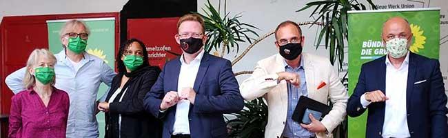 Grüne empfehlen die Wahl des CDU-Kandidaten Andreas Hollstein zum Oberbürgermeister der Stadt Dortmund