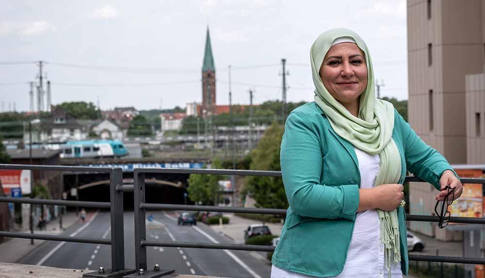Fatime Sahin ist für die neu gegründete BVT in die Bezirksvertretung Innenstadt-Nord gewählt worden. Foto: Mustafa Sirin