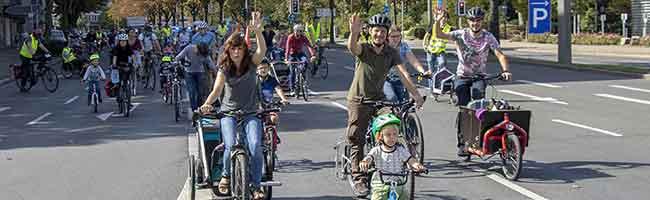 """Kinder aufs Rad: """"Kidical Mass"""" erobert am Wochenende nicht nur in Dortmund mit bunten Fahrrad-Demos die Straßen"""